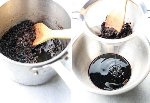Приготвяне на сироп от бъз