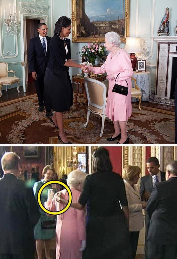 Мишел Обама и кралица Елизабет Втора