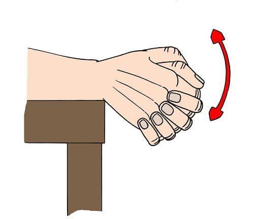 Повдигане на скръстени ръце