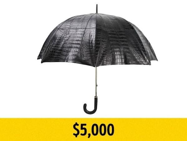 Чадър от крокодилска кожа