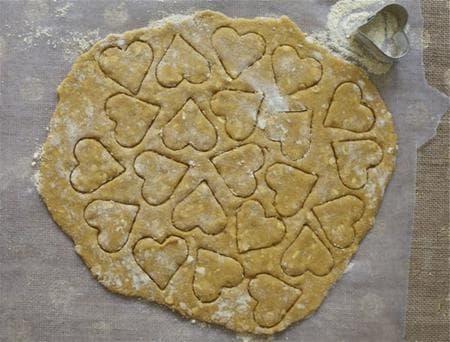 сладки с брашно от нахут