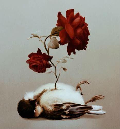 легенда за славеят и розата