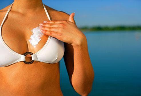 Употреба на слънцезащитни продукти