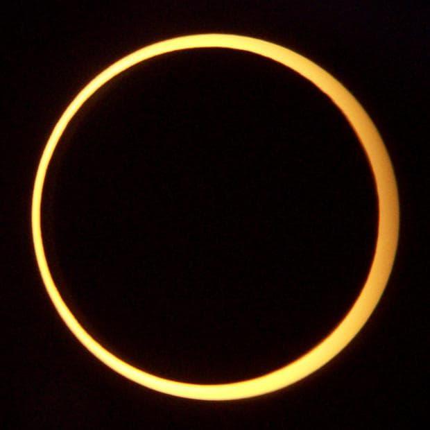 Пръстеновидно слънчево затъмнение