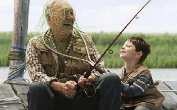 дете, дядо, смях