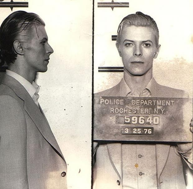 Дейвид Бауи в затвора