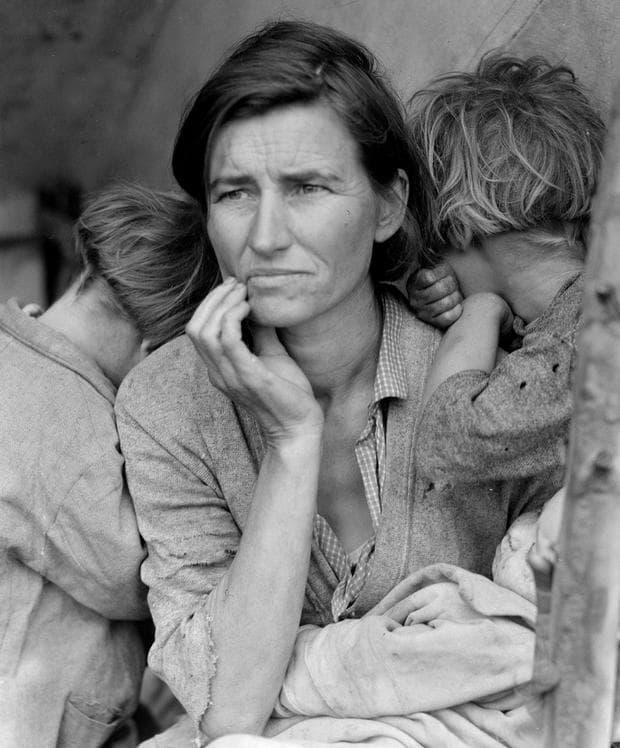 майка мигрант