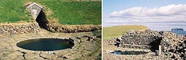 Викингски бани в Исландия