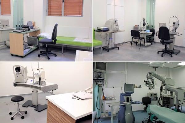 Очна болница Луксор - Пловдив - апаратура