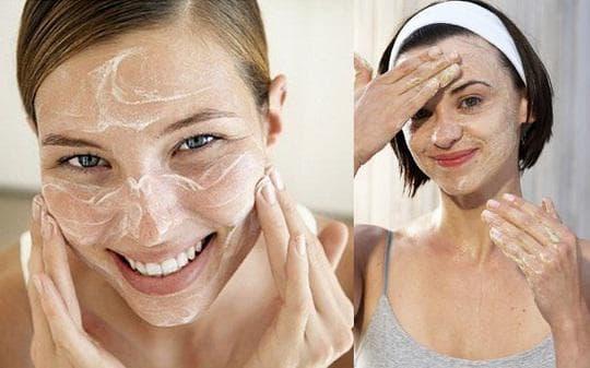 Сода за почистване на лицето