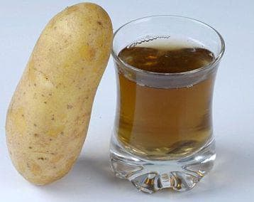 Пресен картоф и сок