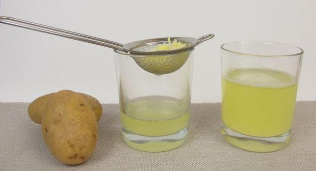 Приготвяне на сок от картофи