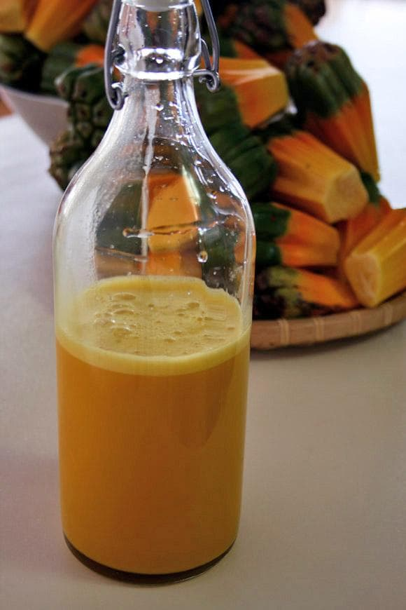 сок от плодове хала