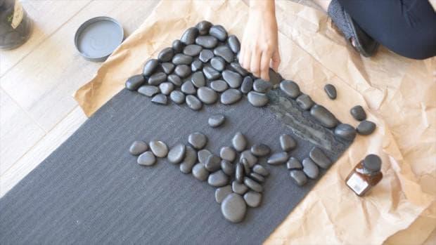 килимче от камъчета