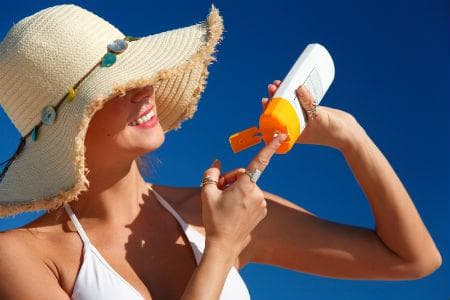 Защита от слънце при спукани капиляри