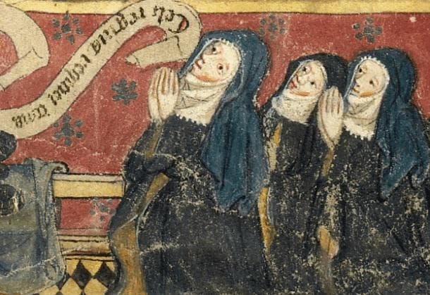 Средновековни монахини