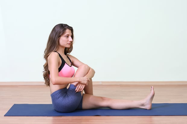 Стречинг крушовиден мускул