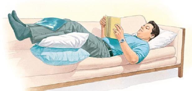 Студен компрес при болки в краката