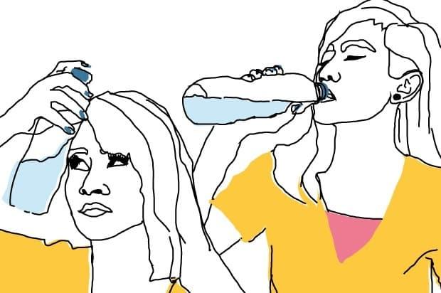сухота в устата при тревожност