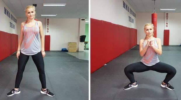 Упражнение - Сумо клек