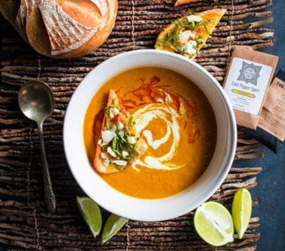 крем супа от моркови с кокосово мляко и джинджифил