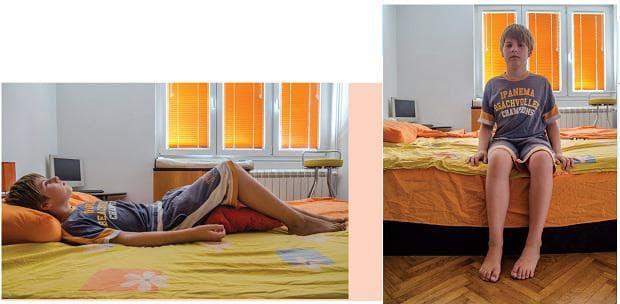упражнения за деца - ставане от леглото