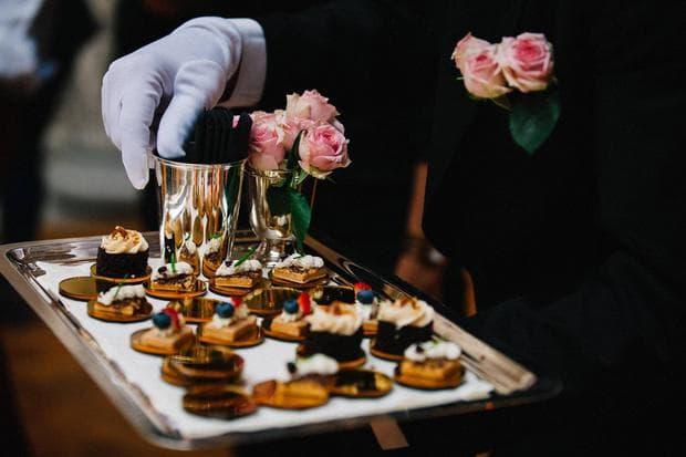 Храна на сватбена церемония