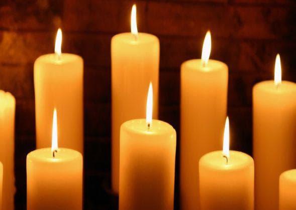 осветление от свещи