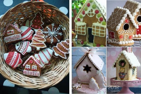 първите декорирани бисквити