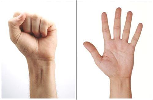 свиване и рагъвне на пръсти