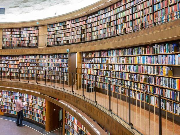 Библиотека в Швеция