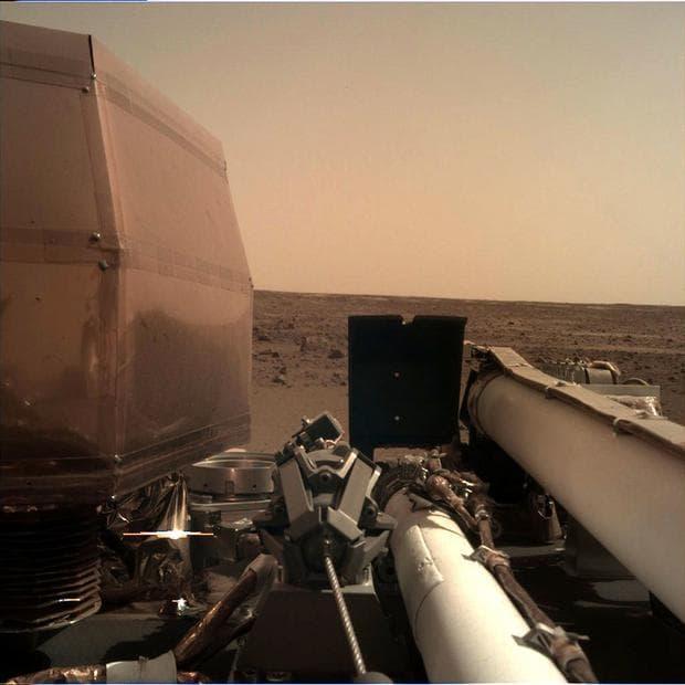 снимка на Марс