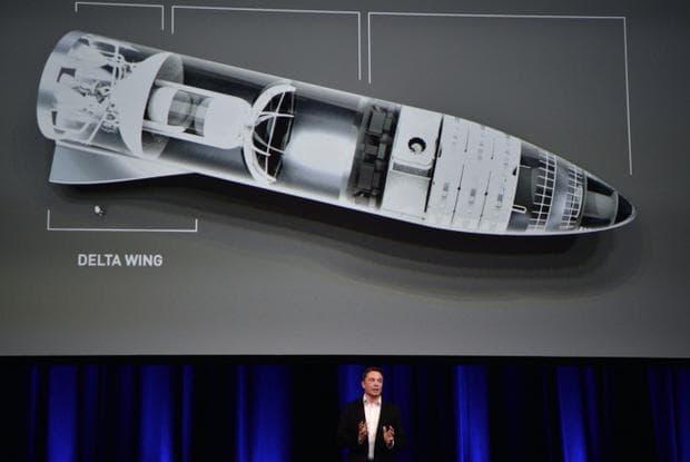ракета до Марс