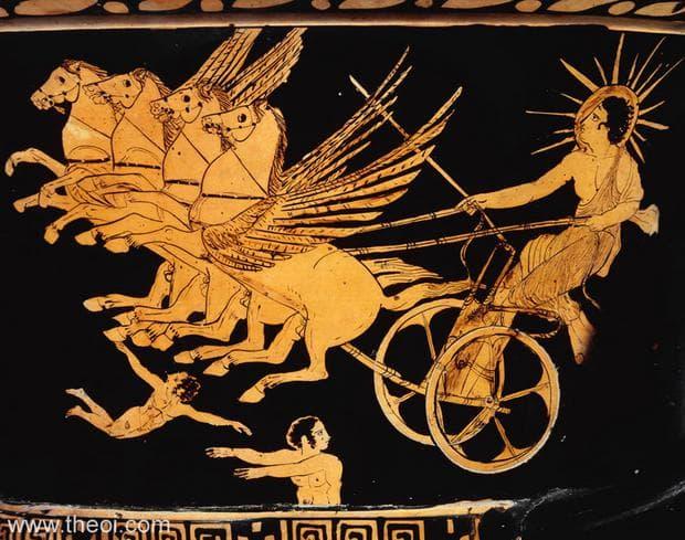 Фаетон и златната колесница