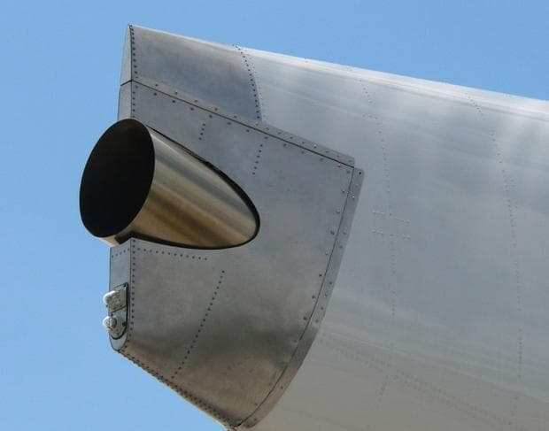 Двигател на самолета