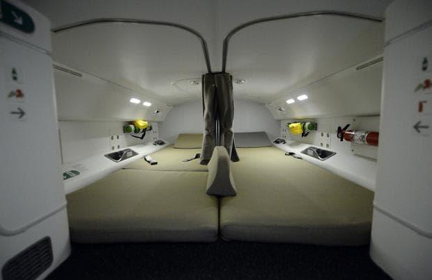 Тайни помещения в самолетите