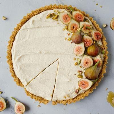 тарт със смокини и крем маскарпоне