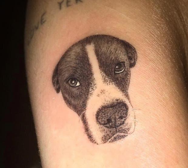татуировка на куче