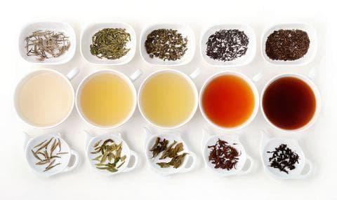 типове чай
