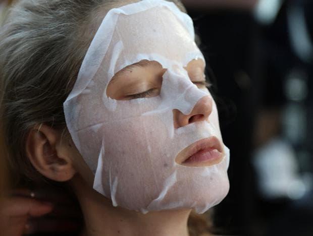 текстилна маска за лице