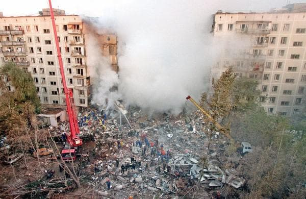 Атентатът в Москва, 1999 г.