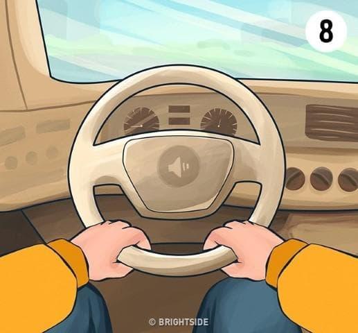 Как държите волана