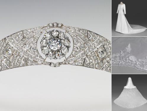 Тиарата и сватбената рокля на Меган Маркъл