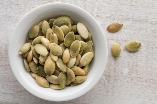 тиквени семена - източник на желязо