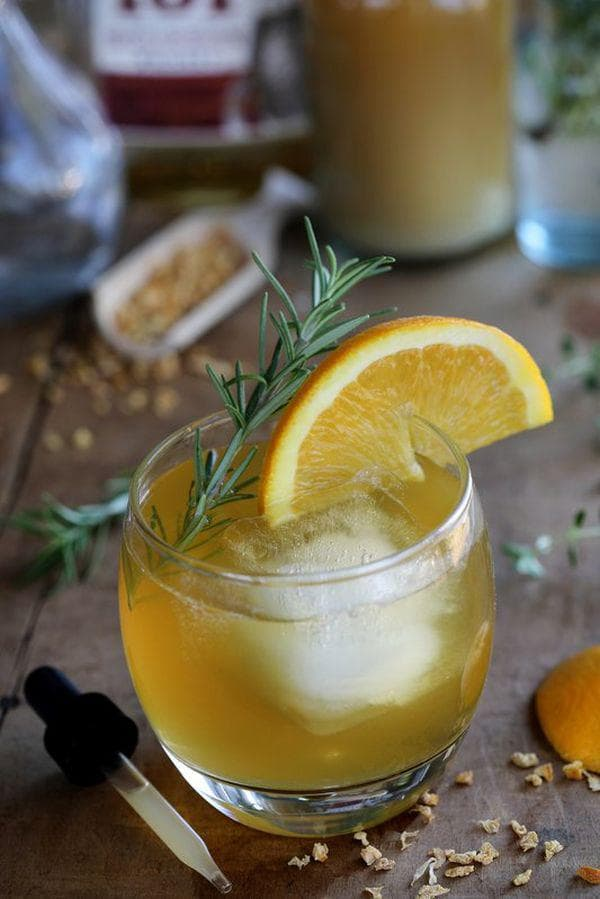 Тинктура от портокал и глухарче