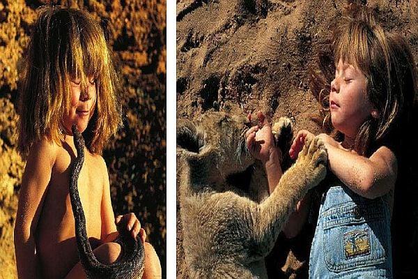 Типи Дегре-момиченцето, пораснало в пустинята.