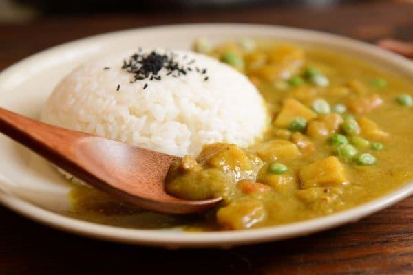 тофу къри с ориз