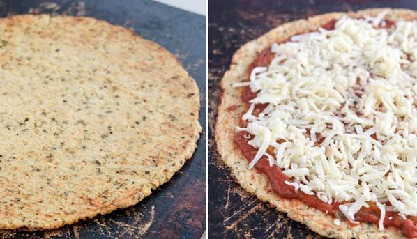Пица с гарнитура