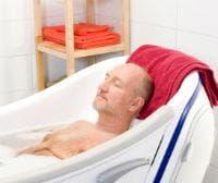 Топли вани за облекчаване на болката