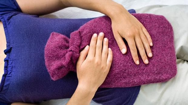 Топъл компрес при болезнена менструация